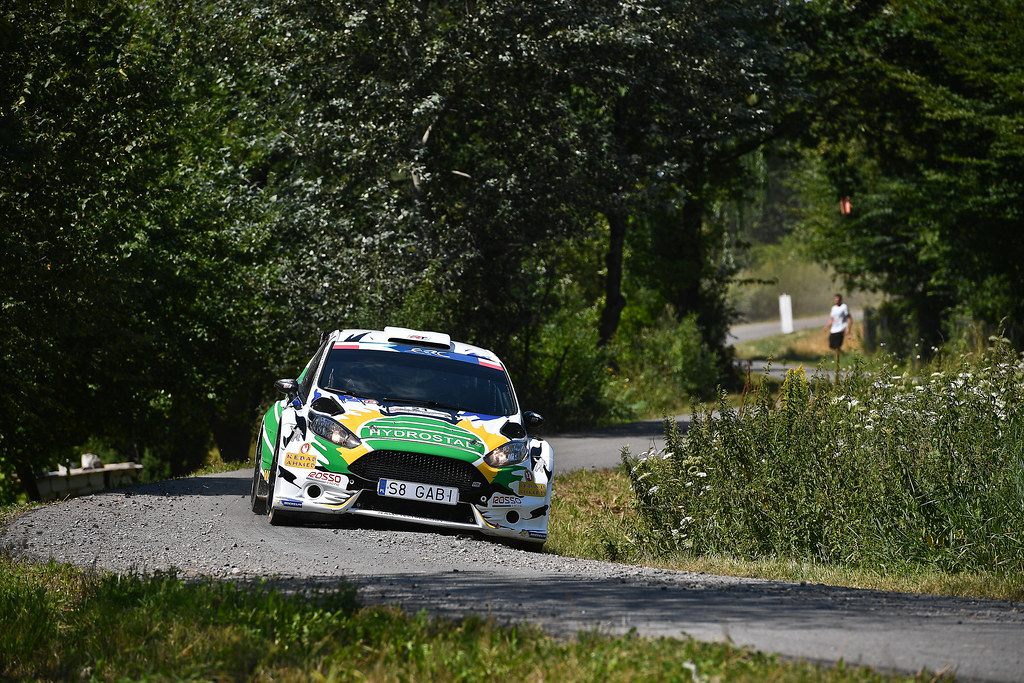 21 GABRYS Zbigniew (POL) NATKANIEC Artur (POL) Ford Fiesta R5 action during the 2017 European Rally Championship Rally Rzeszowski in Poland from August 4 to 6 - Photo Wilfried Marcon / DPPI