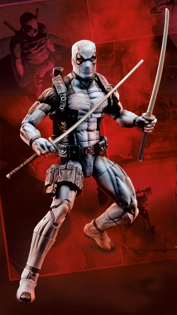 孩之寶Hascon限定 - Marvel Legends X-Force 死侍 Deadpool