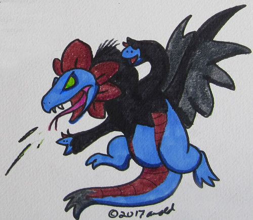 8.9.17 - Hydreigon from Memory