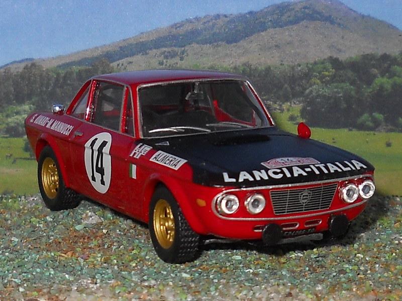 Lancia Fulvia HF - Montecarlo 1972