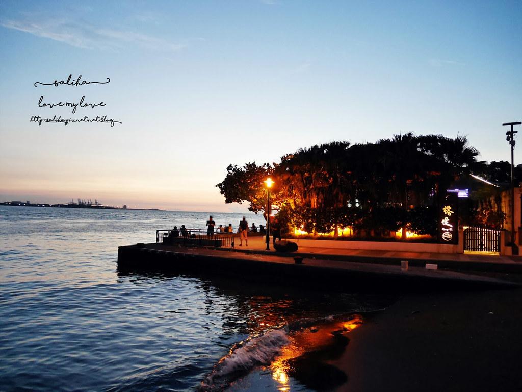淡水老街景觀餐廳推薦榕堤水灣餐廳