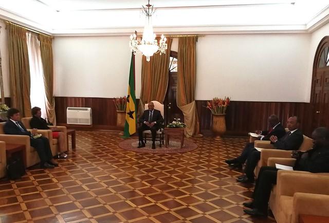 Secretária Executiva realizou Visita Oficial a São Tomé e Príncipe