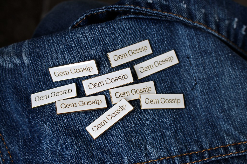Gem Gossip Pins