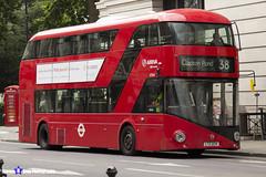 Wrightbus NRM NBFL - LTZ 1224 - LT224 - Clapton Pond 38 - Arriva - London 2017 - Steven Gray - IMG_1214