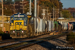 CSX 8869 | EMD SD40-2 | BNSF Thayer South Subdivision