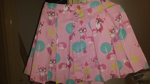 Clever fox skirt