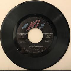 AL GREEN:CALL ME(COME BACK HOME)(RECORD SIDE-A)