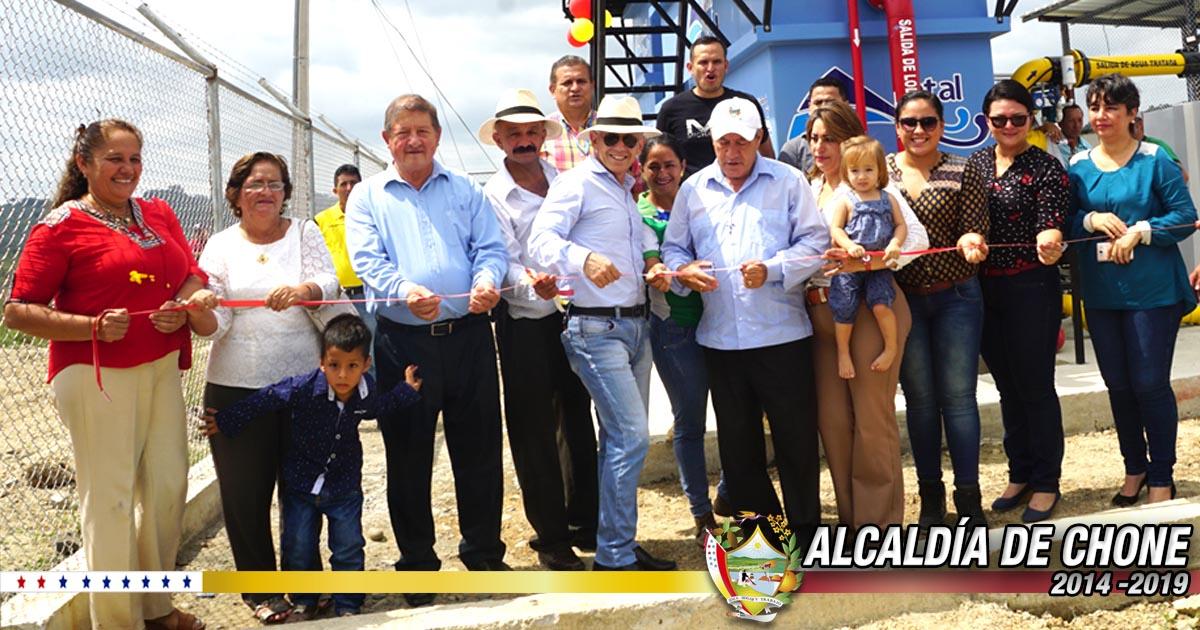 Chibunga cuenta con su planta de agua potable y 150 medidores serán instalados