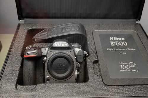 Nikon D500 100th anniversary edtion