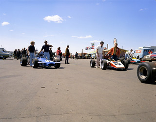 Formula A race at the Edmonton International Speedway