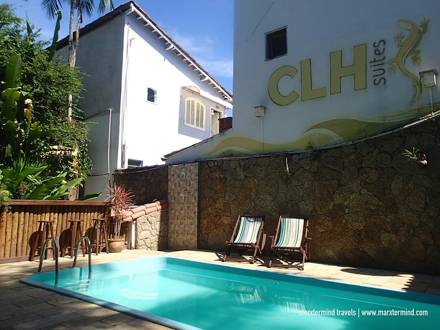 Outdoor Pool at Che Lagarto Hostel Paraty