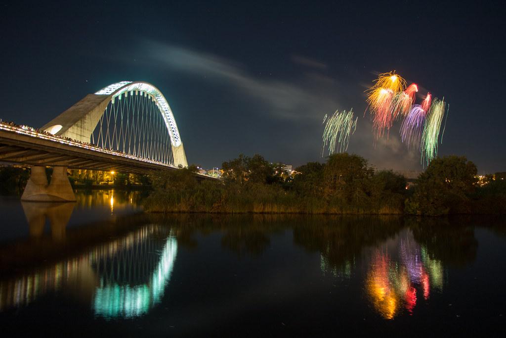 Fuegos Feria de Mérida 2017