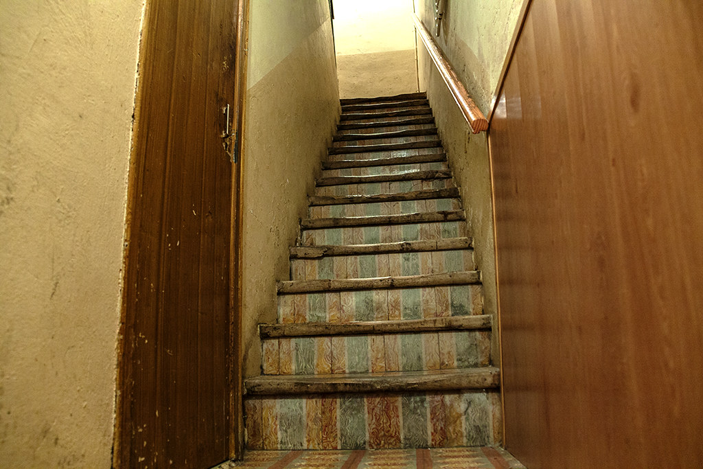 Imam of Ripoll's apartment's stairs--Ripolll