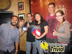 Our trivia team won the jackpot two weeks in a row