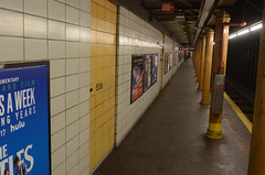 53 St (R) Station Before Renewal
