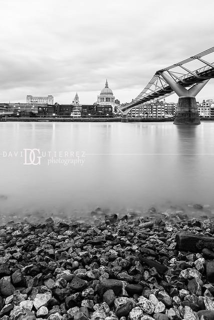 Low Tide, Bankside, London, UK