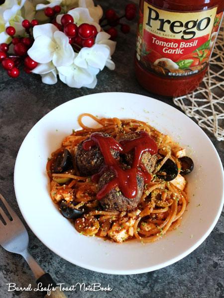 番茄羅勒橄欖豆腐義大利麵 (7)
