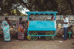 Street's sellers - Mahabalipuram
