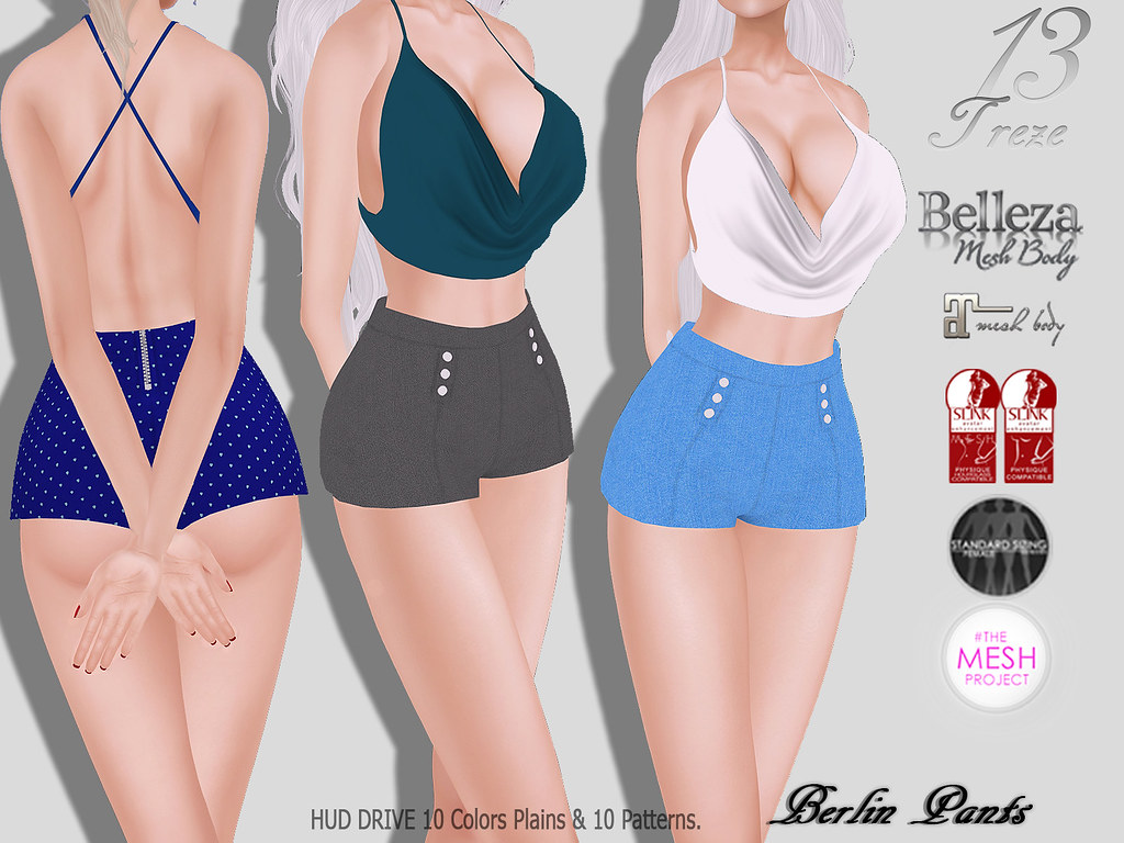★Treze Berlin Pants★ - SecondLifeHub.com