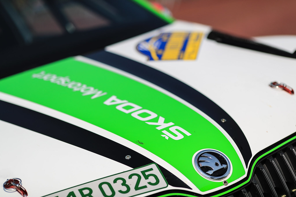 02 KOPECKY Jan (CZE) DRESLER Pavel  (CZE) Skoda Fabia R5 Ambience during the 2017 European Rally Championship ERC Barum rally,  from August 25 to 27, at Zlin, Czech Republic - Photo Jorge Cunha / DPPI