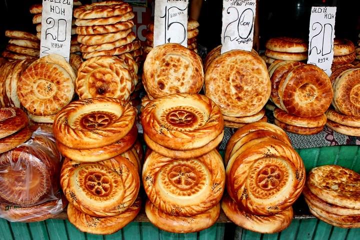 Comer en kirguistán