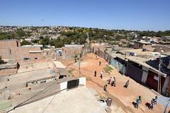 Visita à ocupação Dandara