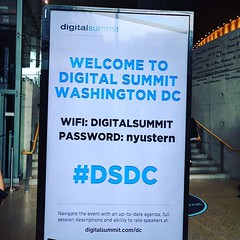 #dsdc arrived just a few minutes before my 4 p.m talk 😀
