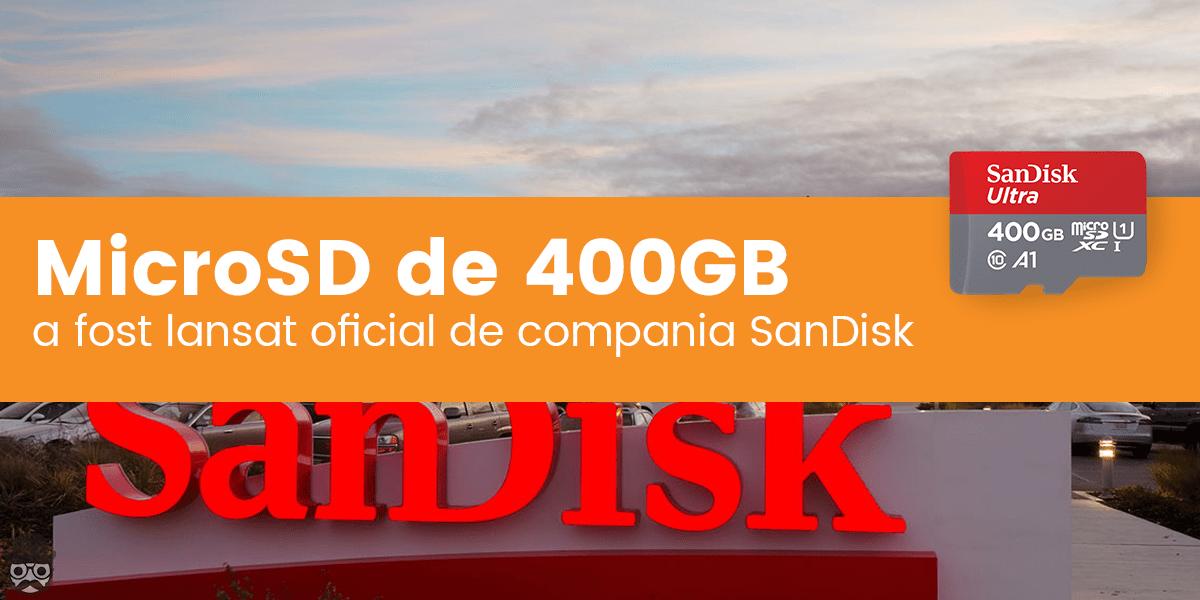 Card MicroSD de 400GB SanDisk