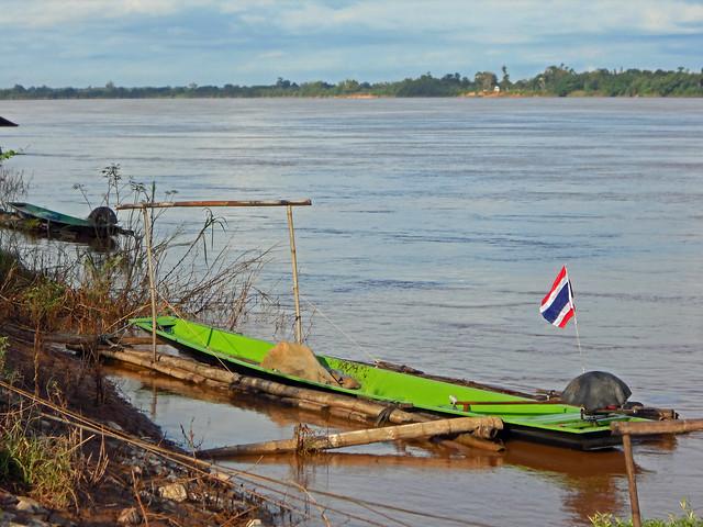 Boats in Nong Kung, Nikon COOLPIX S5200
