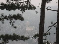 IMG_8518 Blick hinüber zur Ruine Rauhenstein, 24.1.2010