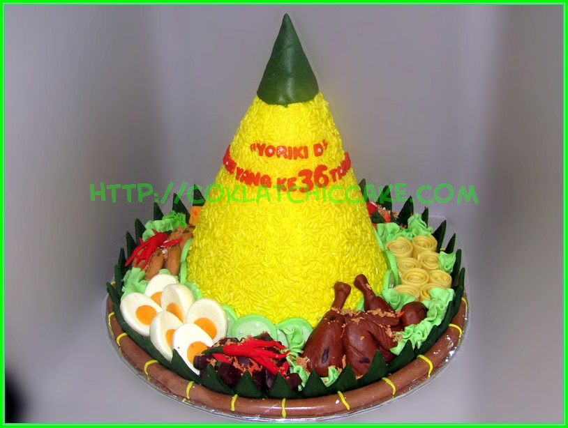 Cake tumpeng Yoriki