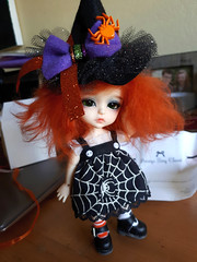 New witch hat! Halloween is coming...