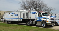 NYPD - 2007 Sterling Actera Tractor 7002 with ACSI Decon Unit 3599 - ESU (8)