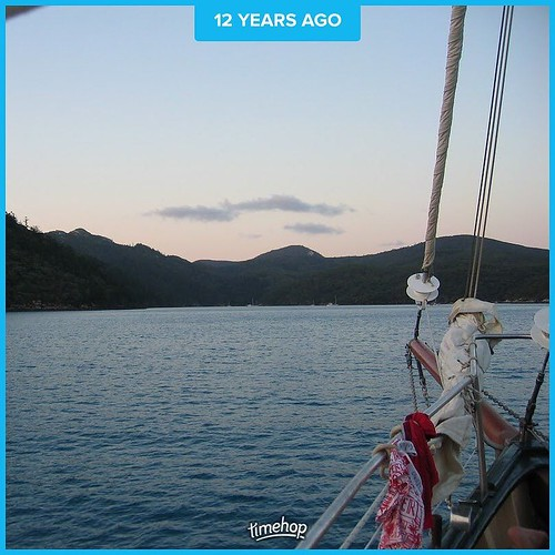 Years ago, we spent a short time vacationing aboard a crewed sailboat in the Whitsunday area off the coast of Australia. ... And I haven't slept on a boat since then.