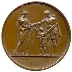1815 Napoleon Son Medal reverse