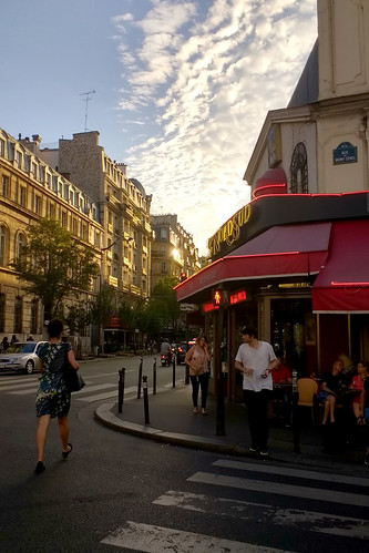 Paris in the Setting Sun