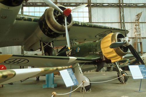 Macchi MC.200 Saetta at the Italian Air Force Museum, Vigna di Valle (Rome)