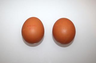 07 - Zutat Hühnereier / Ingredient eggs