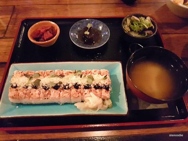 Salmon Hako Sushi