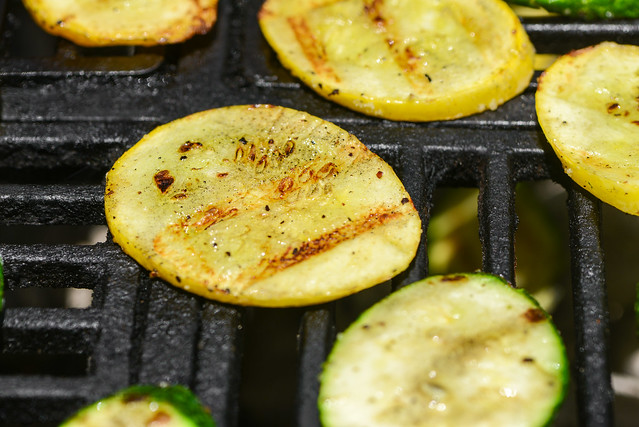 Summer Squash Sandwiches