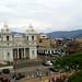 Iglesia y Plazoleta de Nuestra Señora de la Soledad, desde las alturas av.2a-4, c.9/ Square and Church of Our Lady of Solitude, from high above 2a-4th av., 9th st.