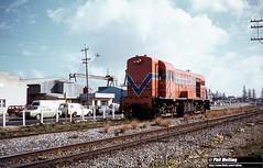 2096 H2 light engine Marine Terrace South Fremantle 17 July 1981
