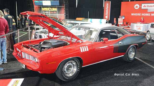 1971 Plymouth Hemi Cuda at Mecum Auction Monterey 2017