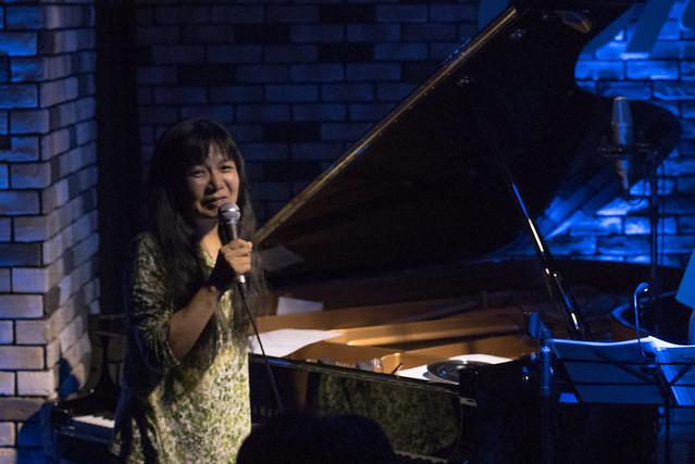 Satoko Fujii Quartet live at Cortez, Mito (Japan), 19 Aug 2017 -7S-00222