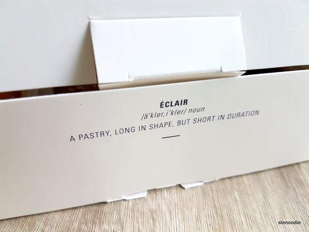 Nugateau eclair box