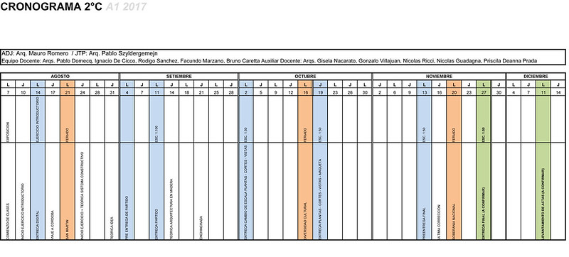 A1-Cronograma 2C 2017