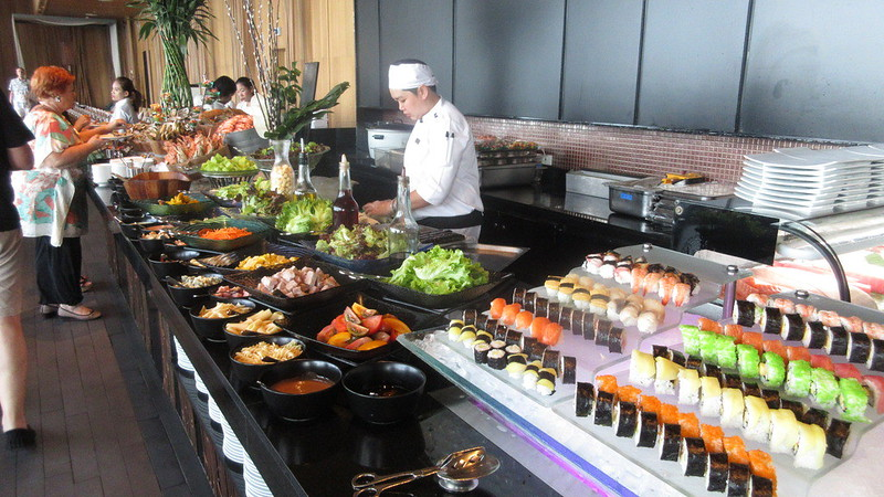 Pattaya Hilton Buffet Edge Restaurant