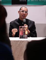 Edson Hurtado en la presentación de La Madonna de Sorata, en Santa Cruz.
