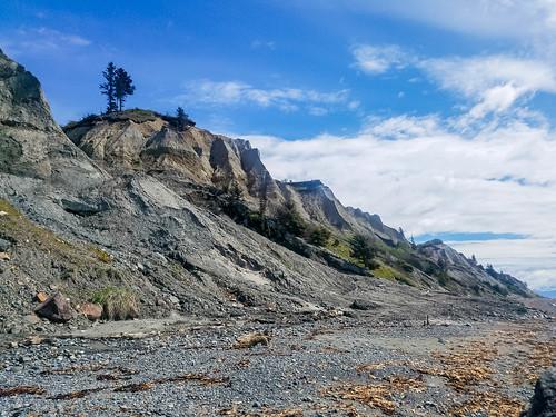 Looking south below Anchor Point, Alaska
