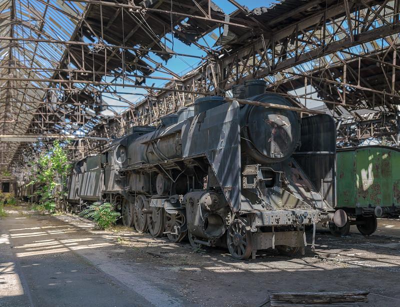 Istvántelek Train Yard - Budapest